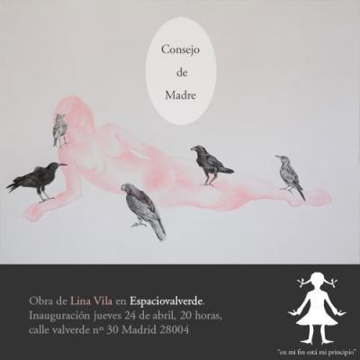Jueves 24 de abril, inauguración en Madrid