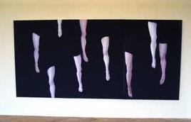 Exposición de Lina Vila, Nantes, 2003