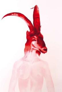 """Un dibujo de Lina Vila de """"Como un animal salvaje"""" [2008]"""