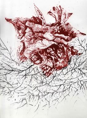 Texto de Chus Tudelilla a propósito de las litografías de Lina Vila en Estampa 2012